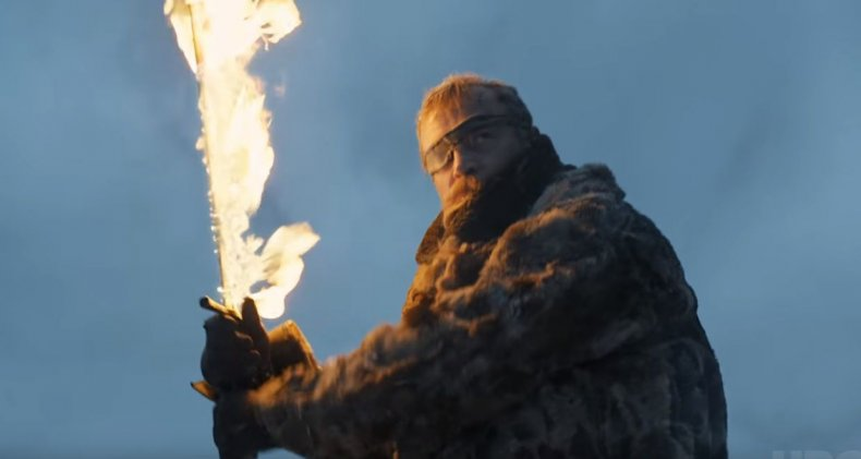 Beric Dondarrion is back with his flaming sword