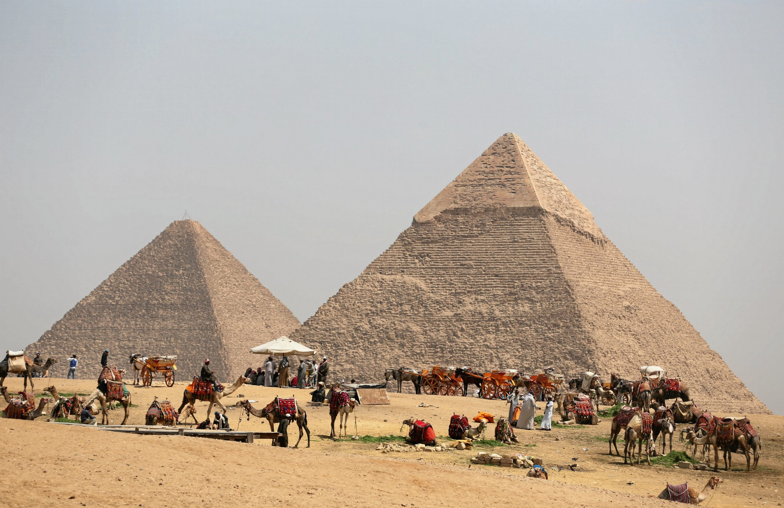 The decline of ancient egypt a
