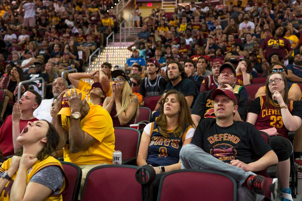 Cleveland Cavaliers Fans
