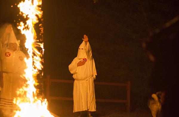 "New report says Ku Klux Klan activies were ""dwindling"""