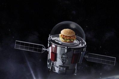 KFC Zinger Stratollite
