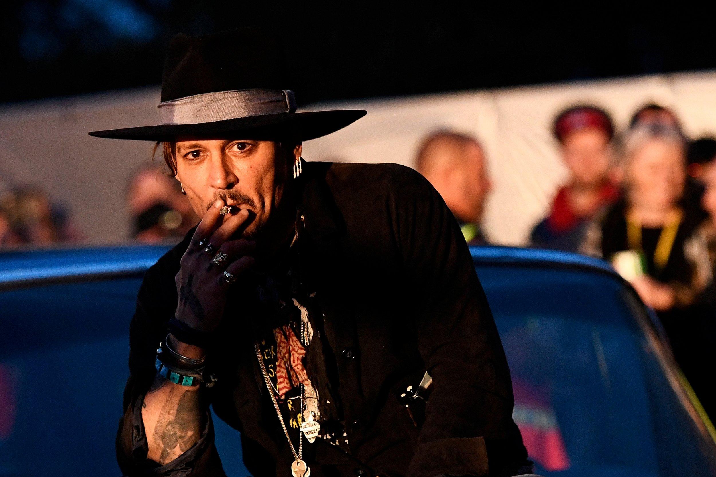 Johnny Depp Glastonbury