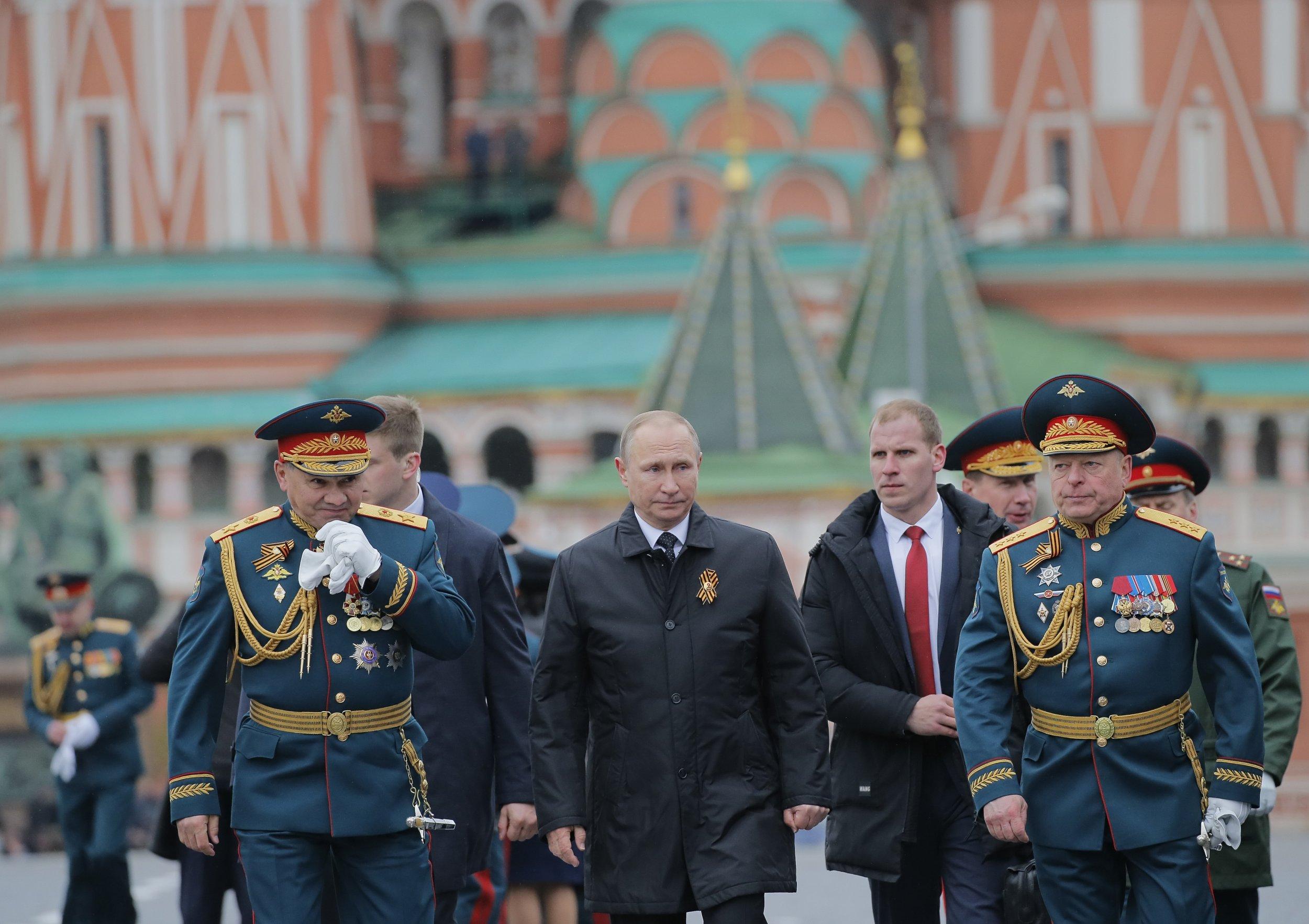Putin and army