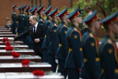 Putin at WWII memorial
