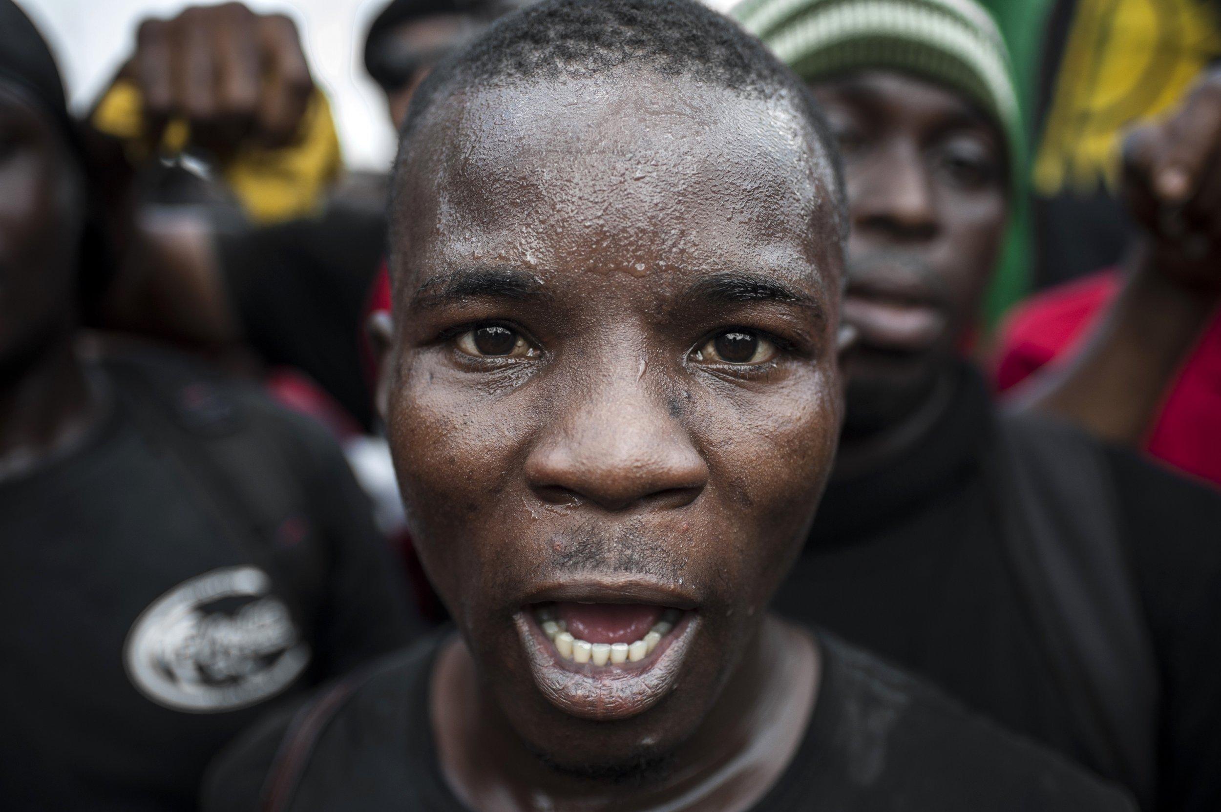 Biafra supporter