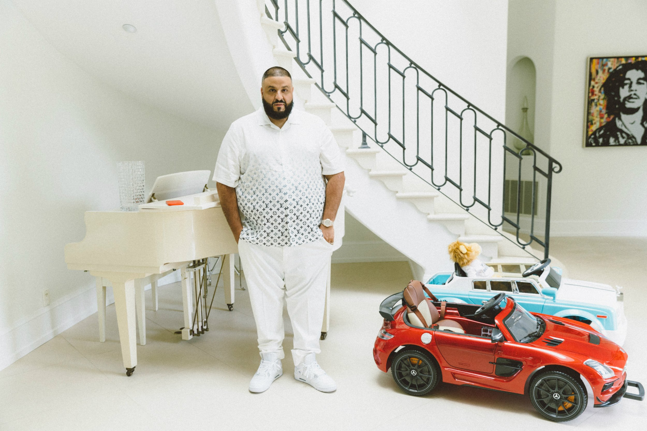 DJ Khaled for Newsweek