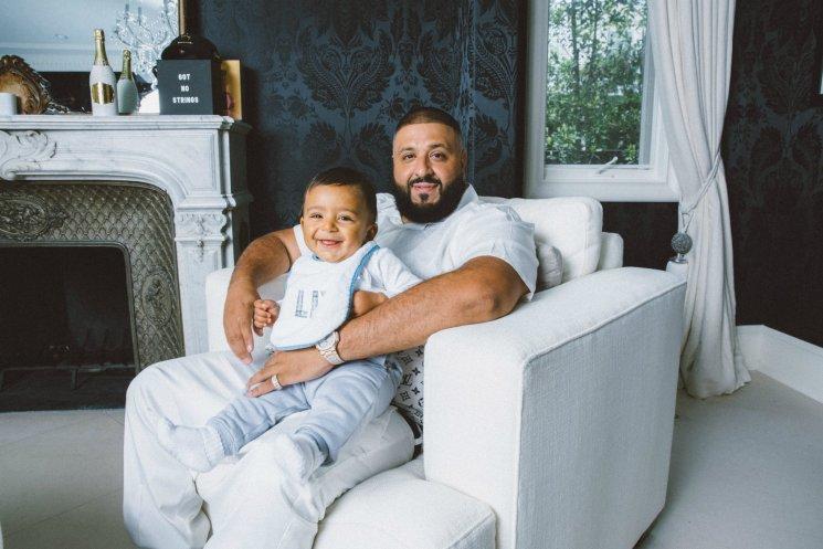 DJ Khaled with son Asahd