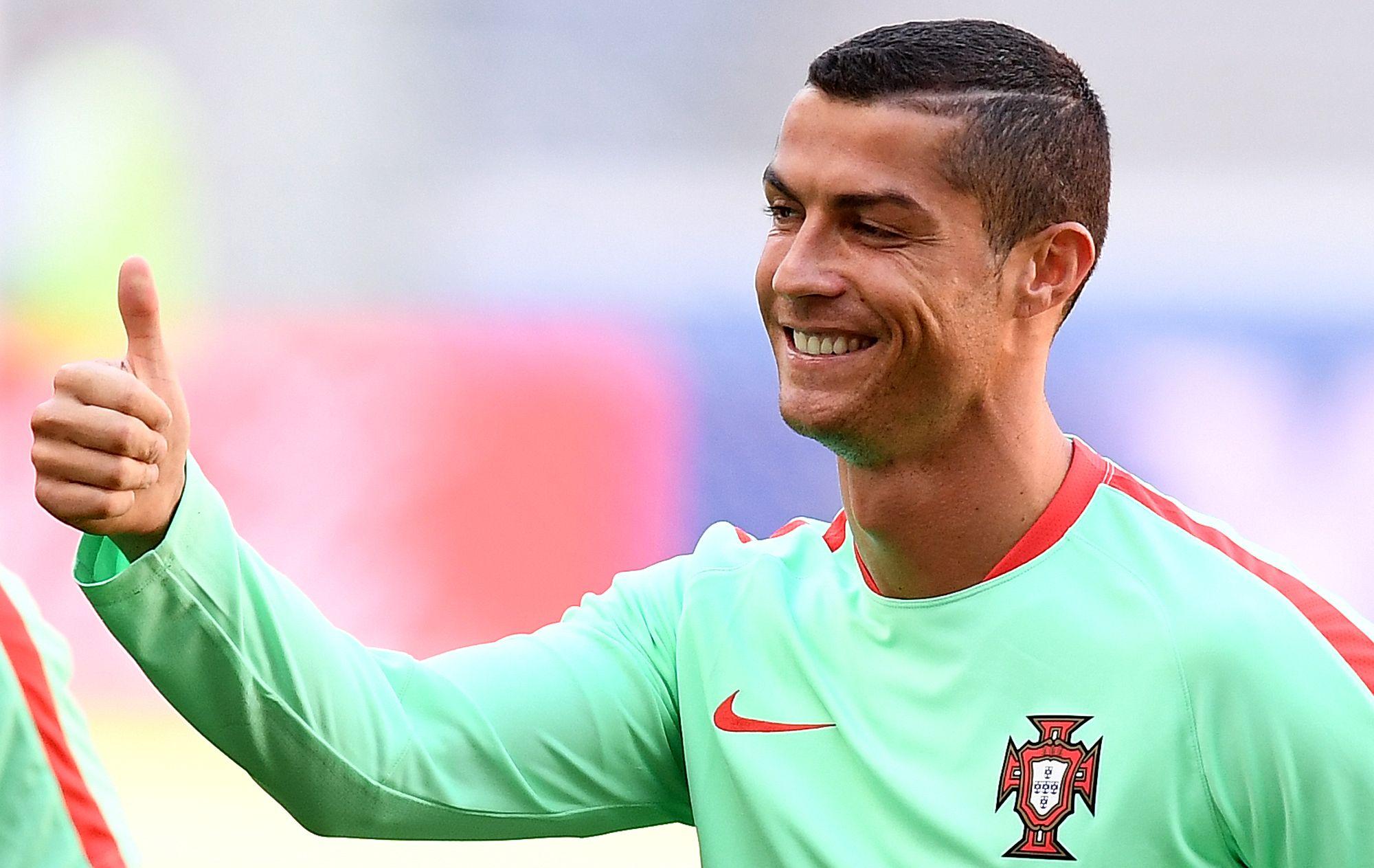 Portugal and Real Madrid forward Cristiano Ronaldo.