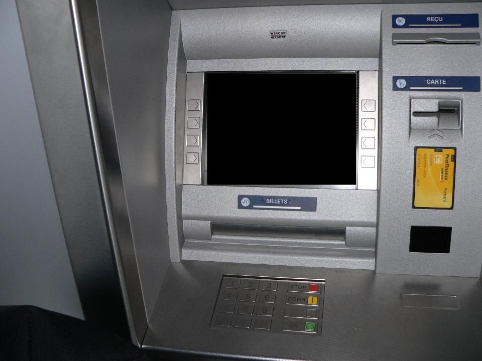 Postomat Windows ATM