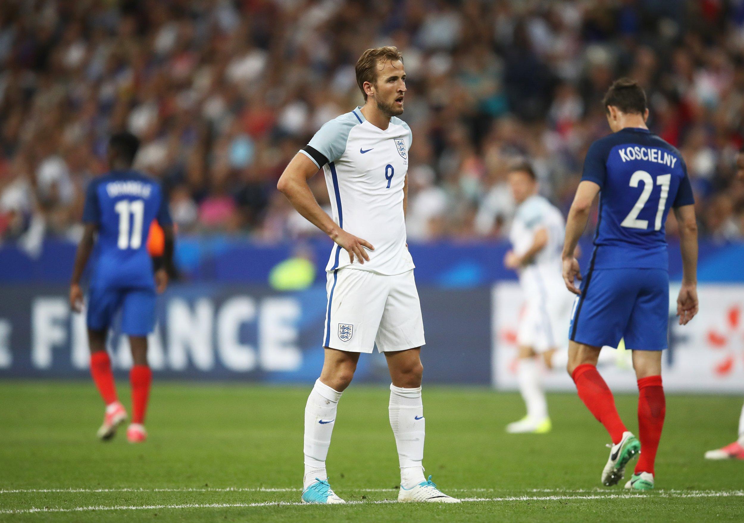 Tottenham Hotspur and England striker Harry Kane.
