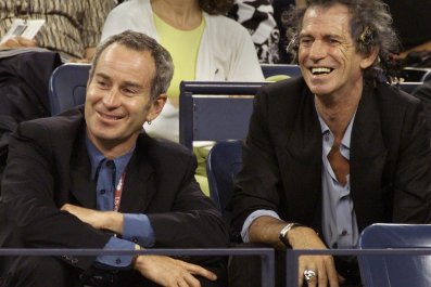 McEnroe and Richards