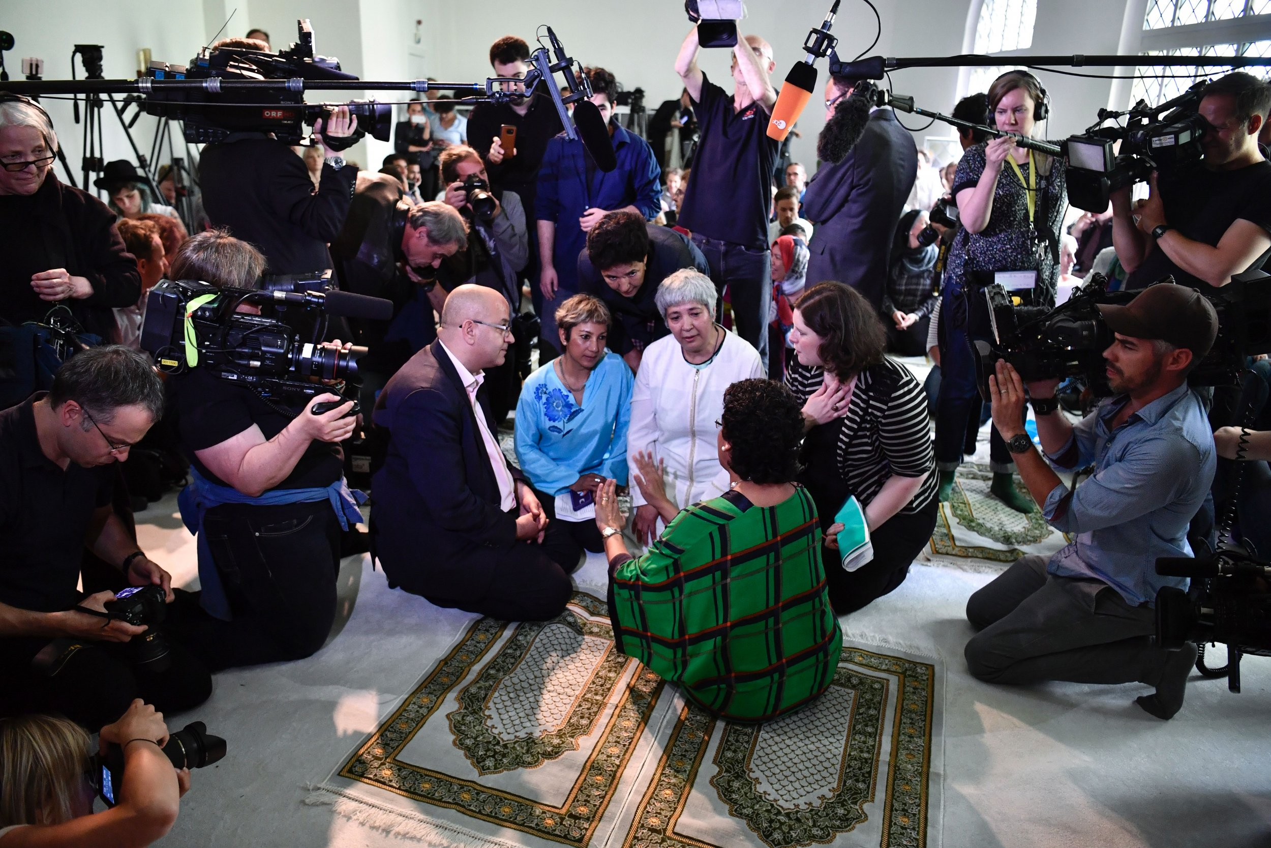 Germany liberal mosque meeting