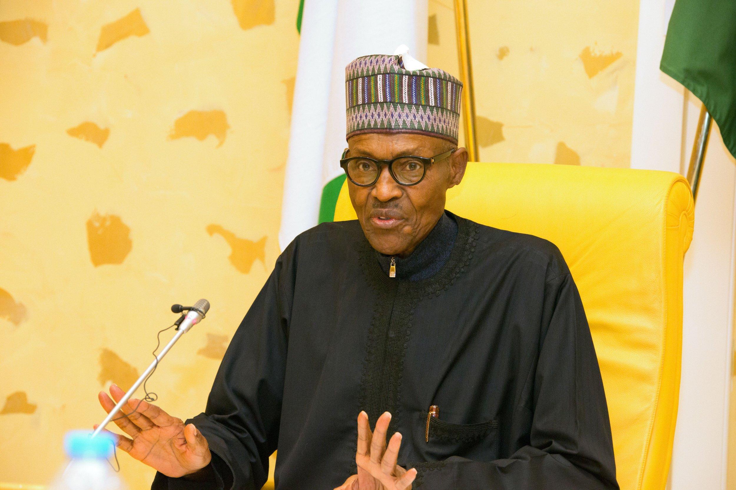 Buhari after sick leave