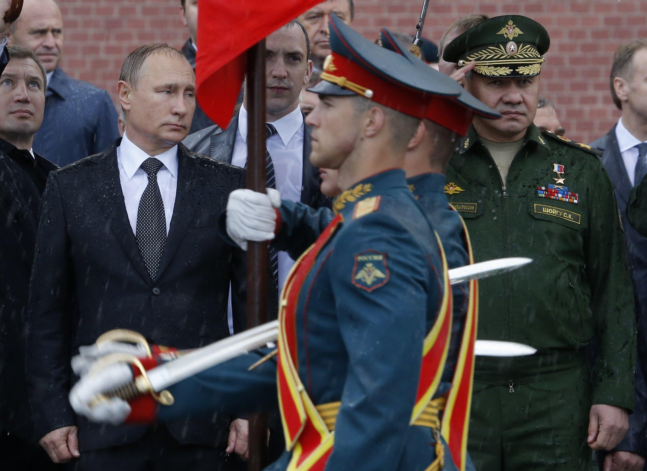 Putin and Shoigu