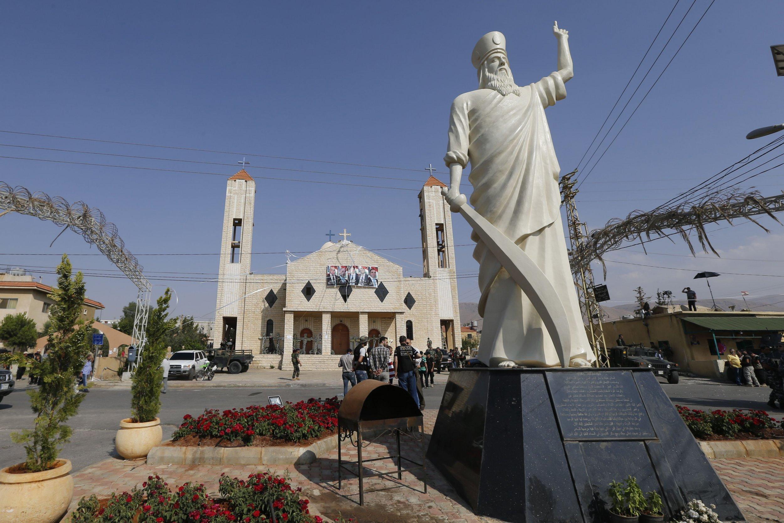 The town of Qaa