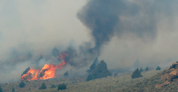 Wildfire ravaging Utah is the biggest wildfire in U.S. history