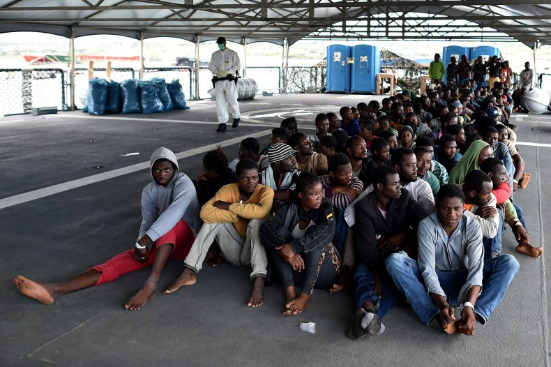 Migrants in Italy