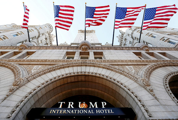 Trump will host his first RNC fundraiser at his hotel in D.C. amid conflict of interest lawsuit