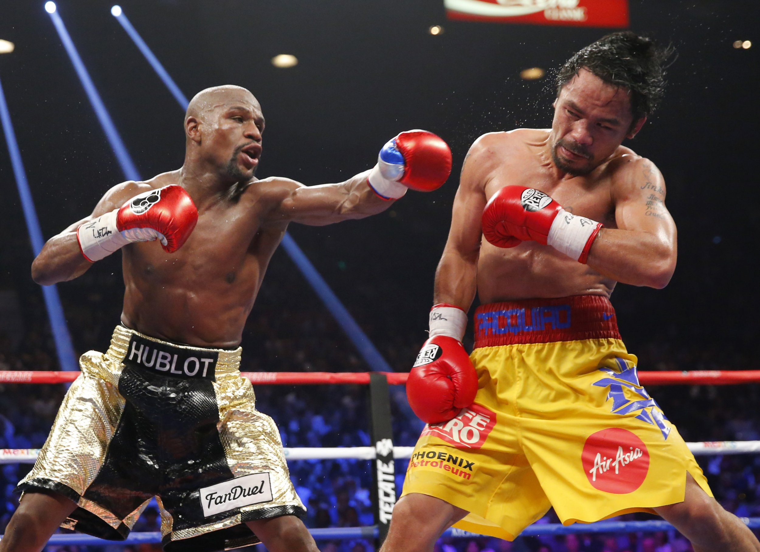 Mayweather and pacquiao fight date in Melbourne