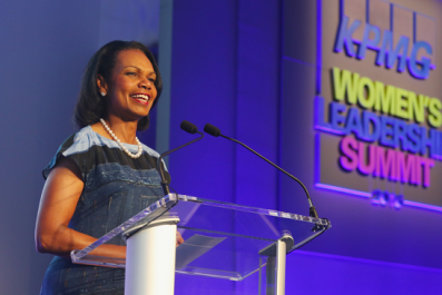 Condoleeza Rice says Trump stands for American values
