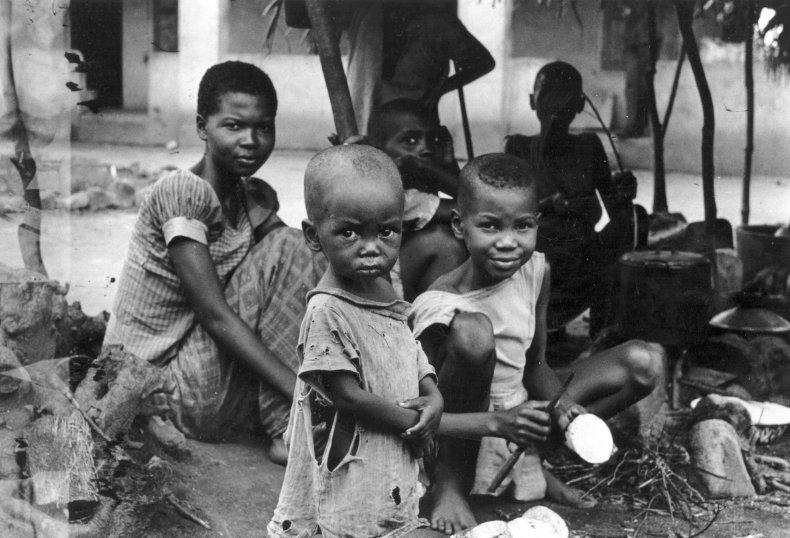 Biafran family