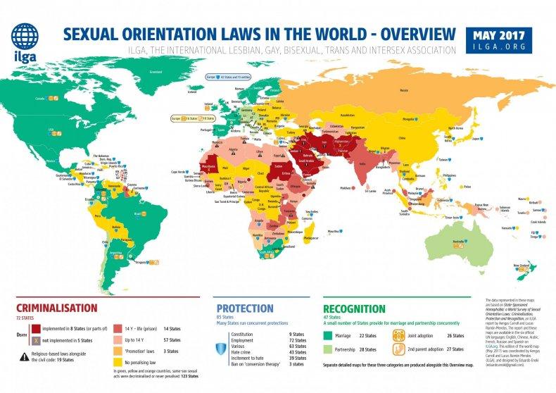 ILGA map 2017