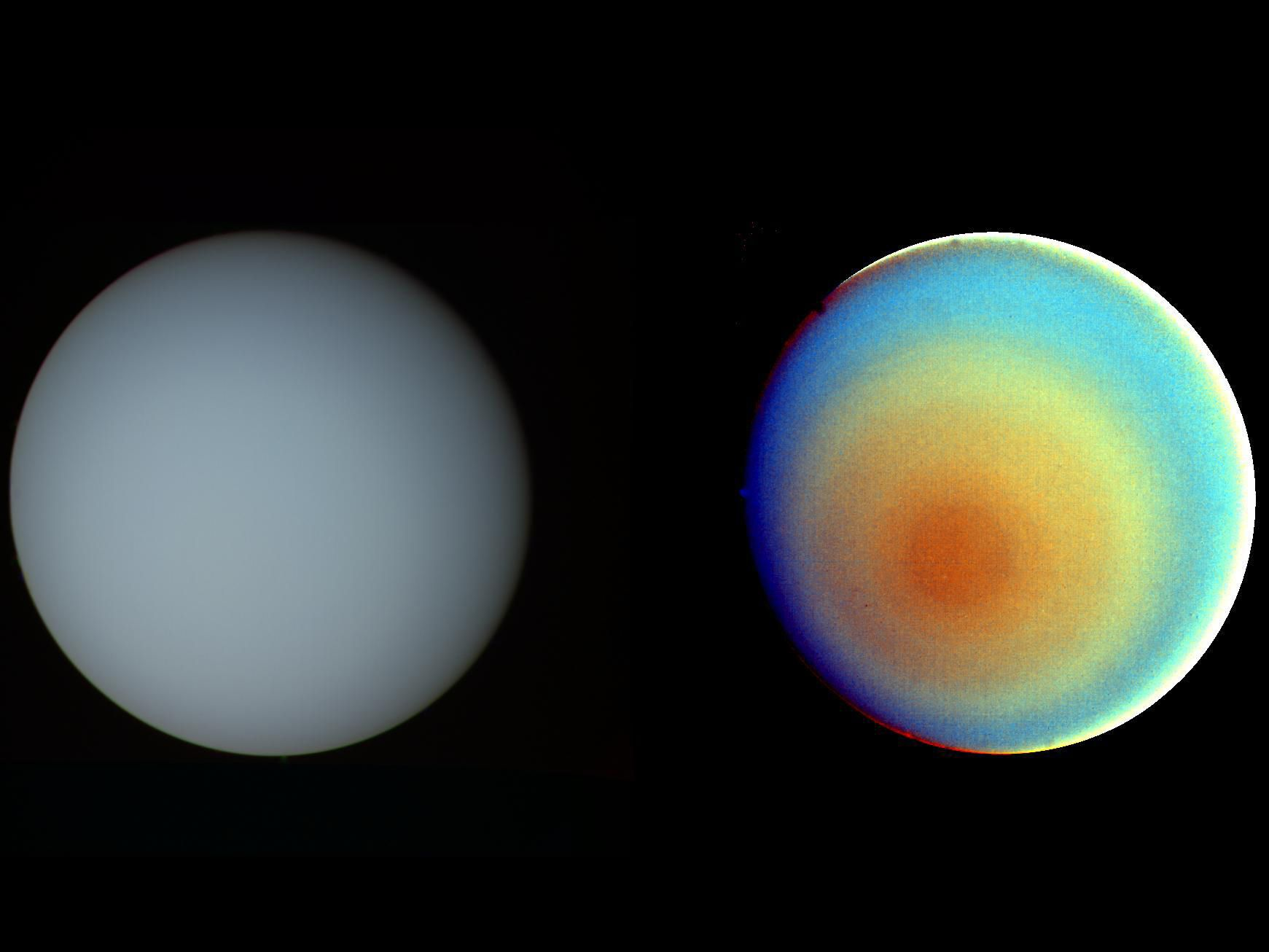 color range of planets - photo #12
