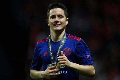 Ander Herrera of Manchester United at Friends Arena, Stockholm, May 24.