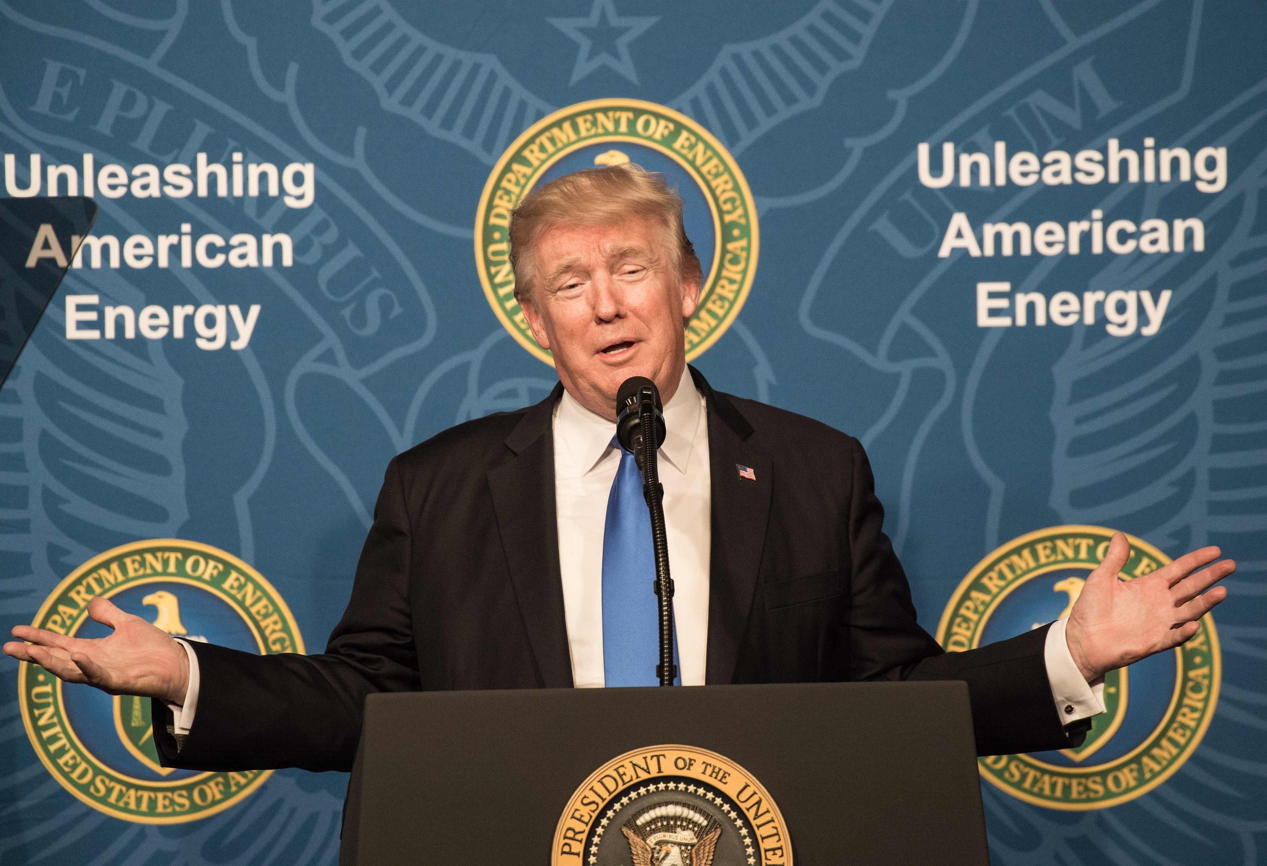 Donald Trump Talks Energy Policy