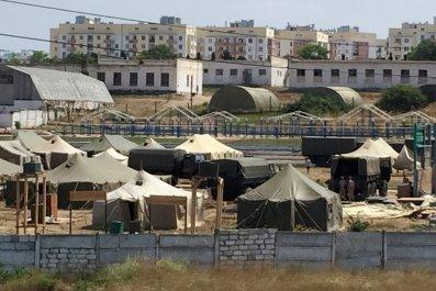 Crimea military base