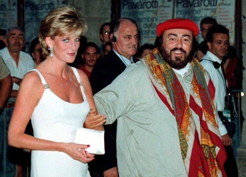 Princess Diana Pavarotti