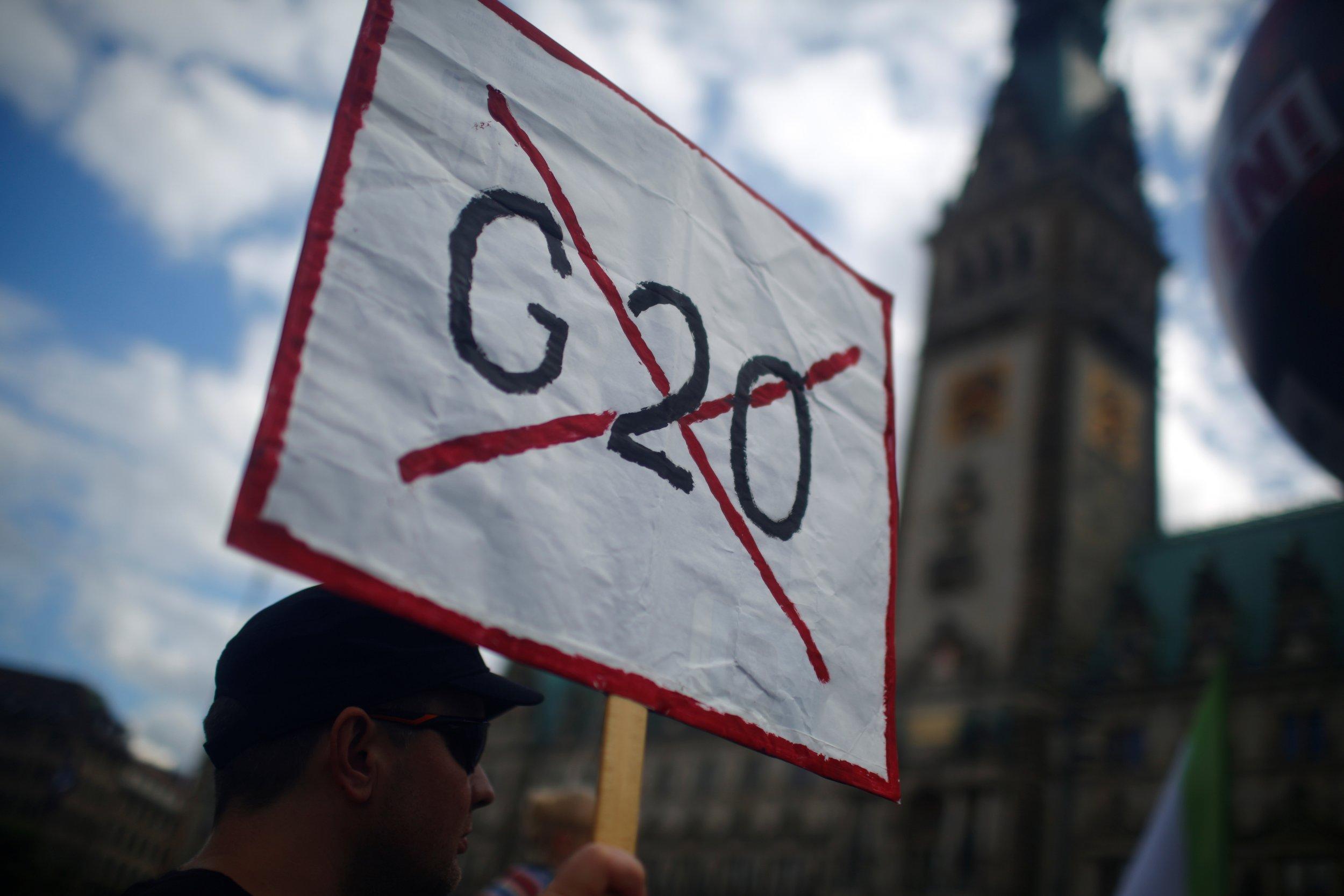 Anti-G20 Protest