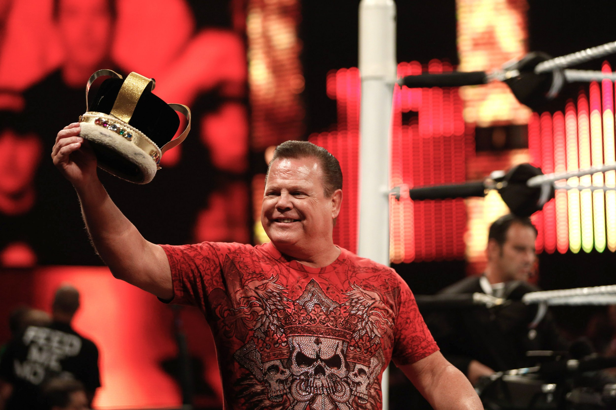 Jerry Lawler from WWE