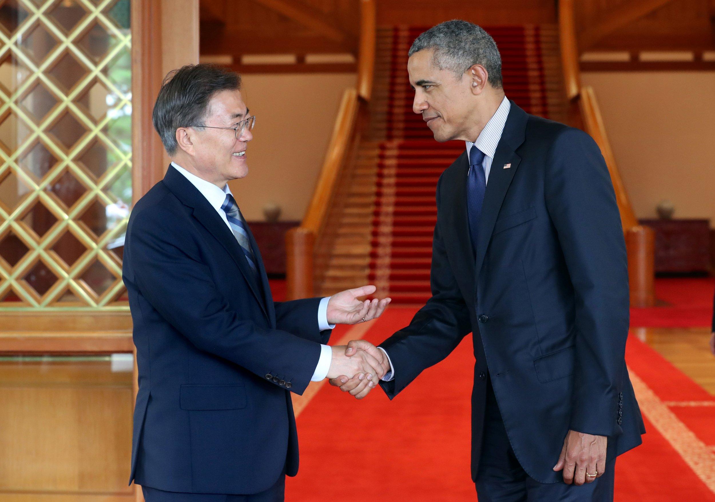 Obama in seoul north korea has one last chance to engage with the obama in seoul north korea has one last chance to engage with the west m4hsunfo