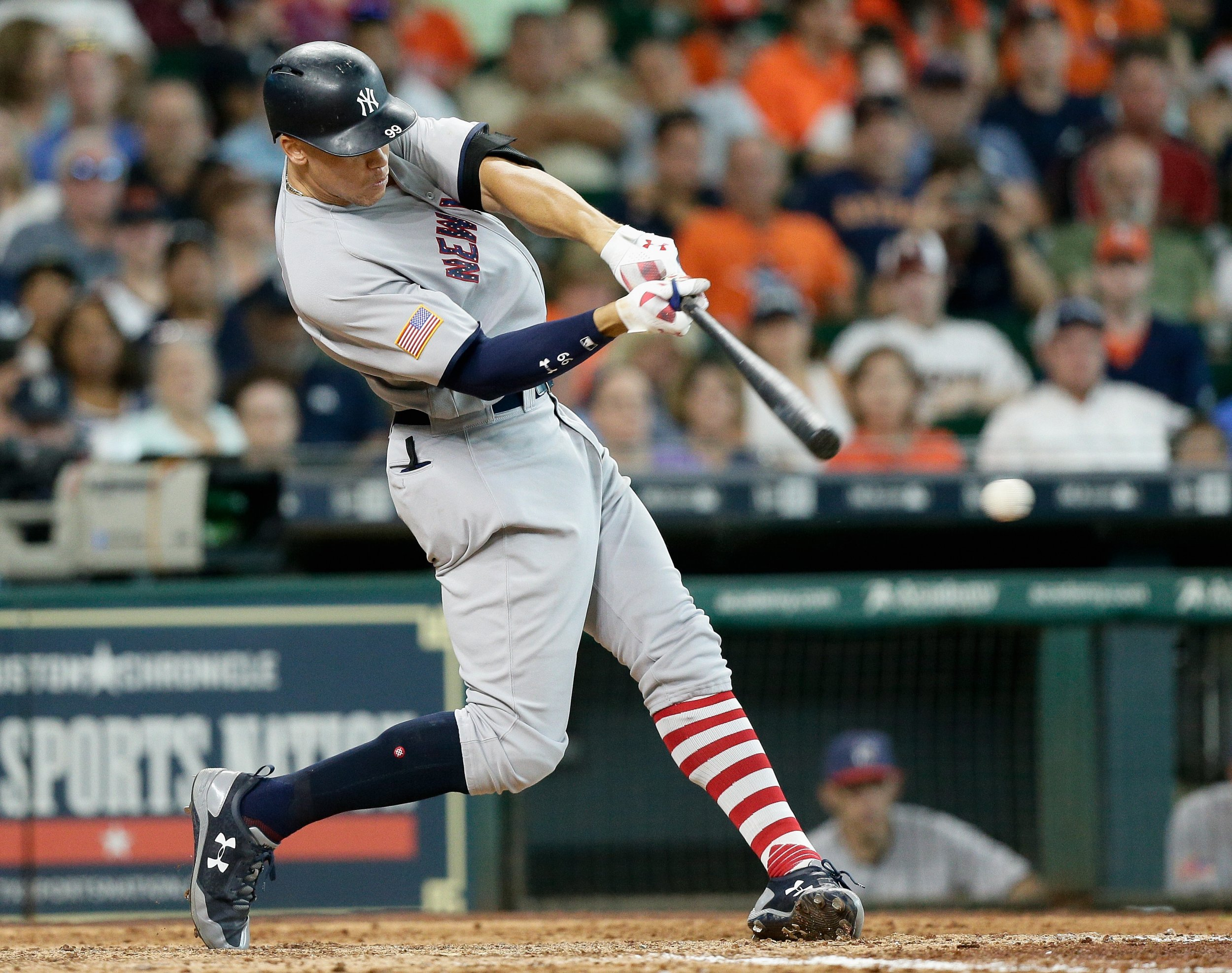 New York Yankees rookie Aaron Judge.