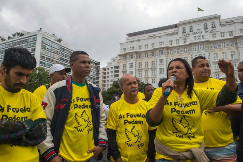 Favelas protests 1