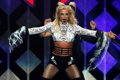 Britney Spears didn't blow off Israeli Prime Minister Benjamin Netanyahu