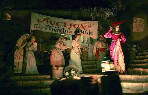 Women Will No Longer Be Sold in Scene on Disney's Pirates of the