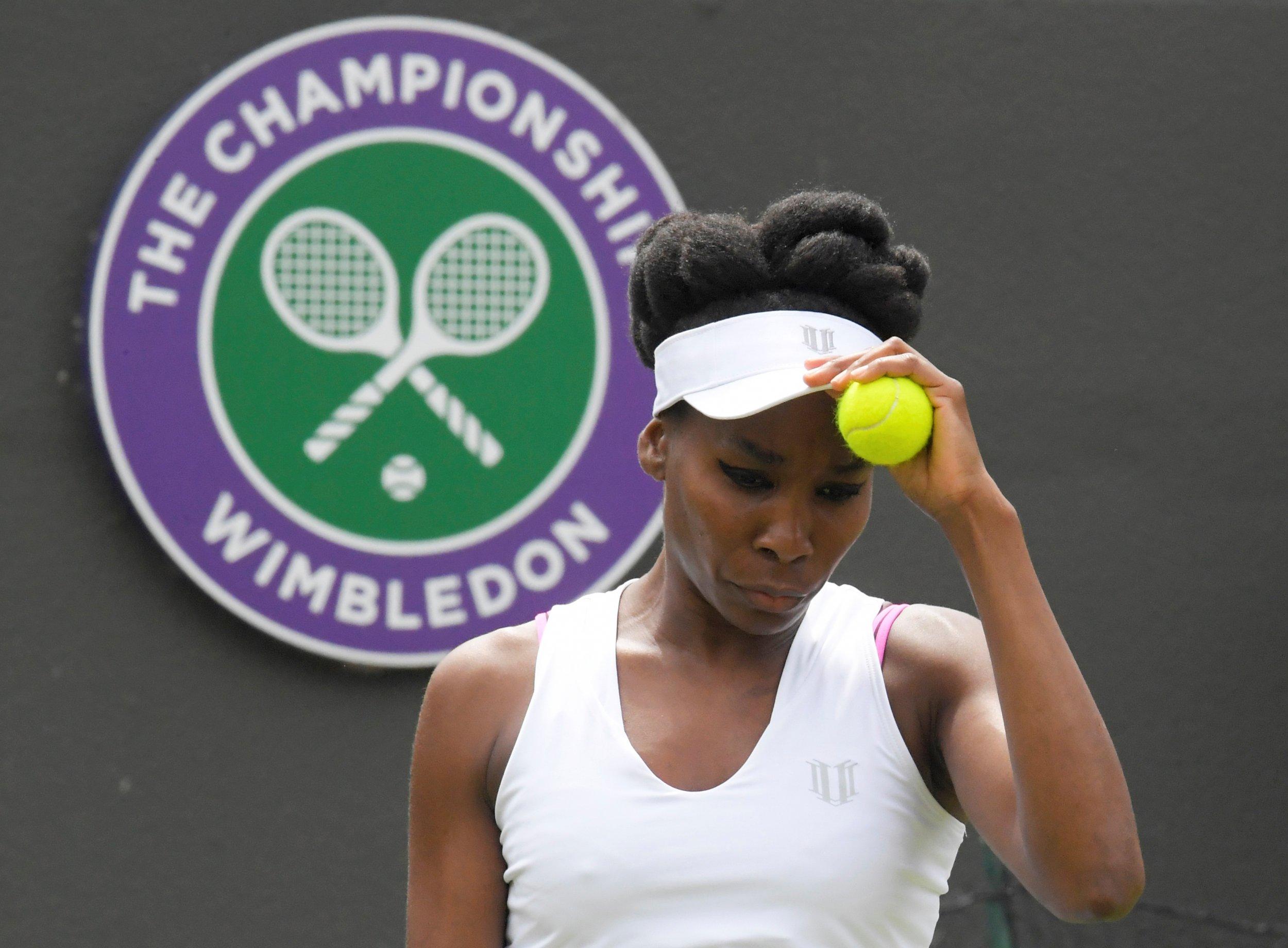 Venus Williams at Wimbledon 2017