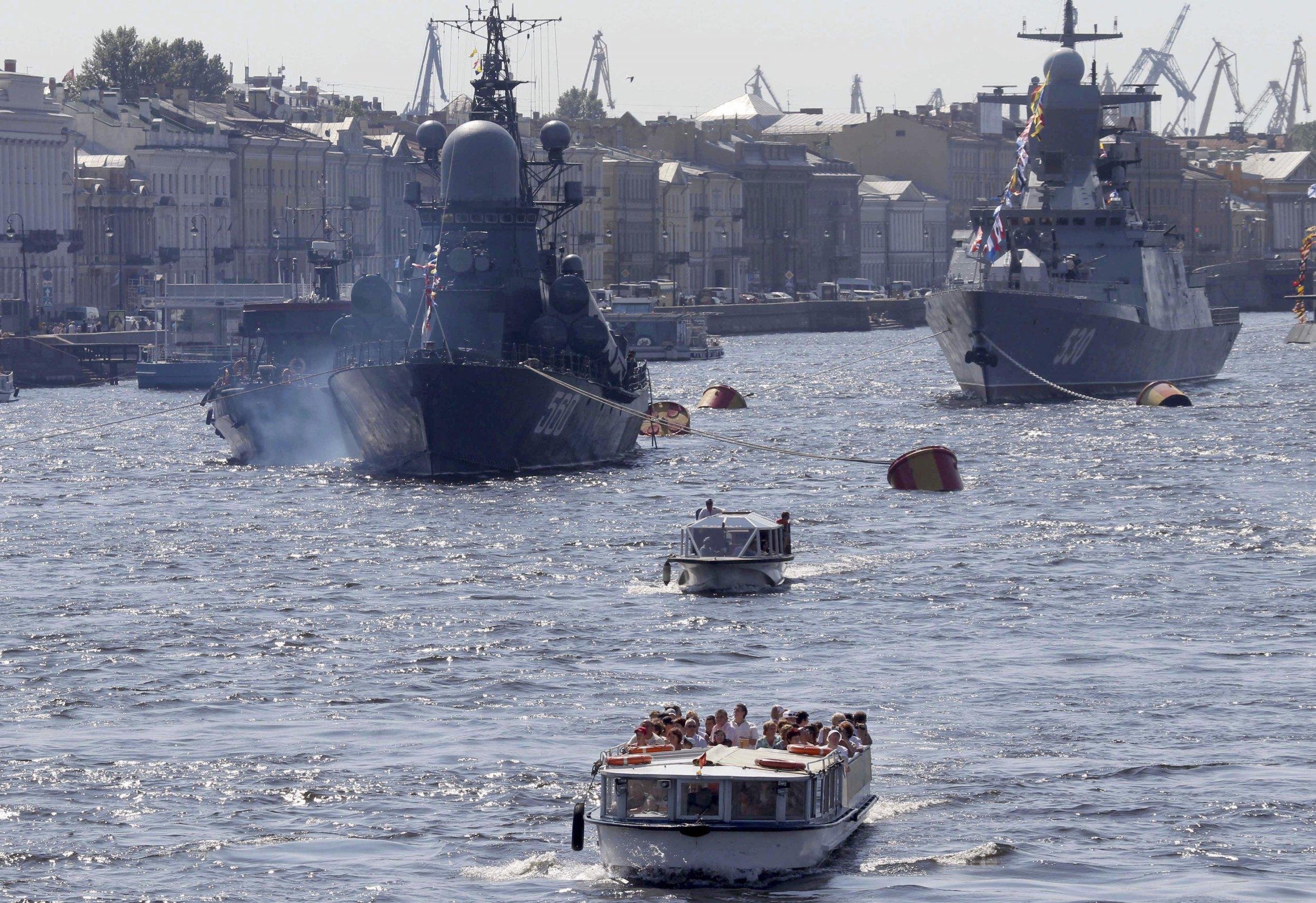 Russian corvette