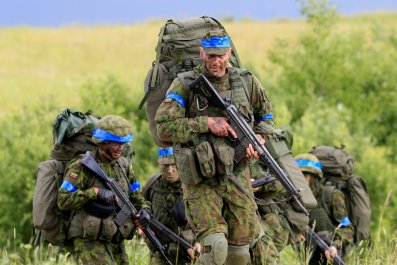 Lithuanian troops