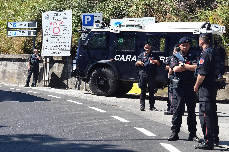 Carabinieri in Italy