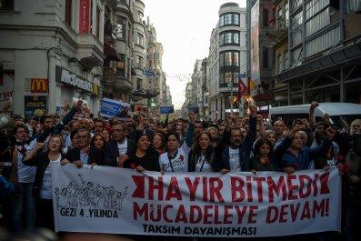 Turkey's Taksim District