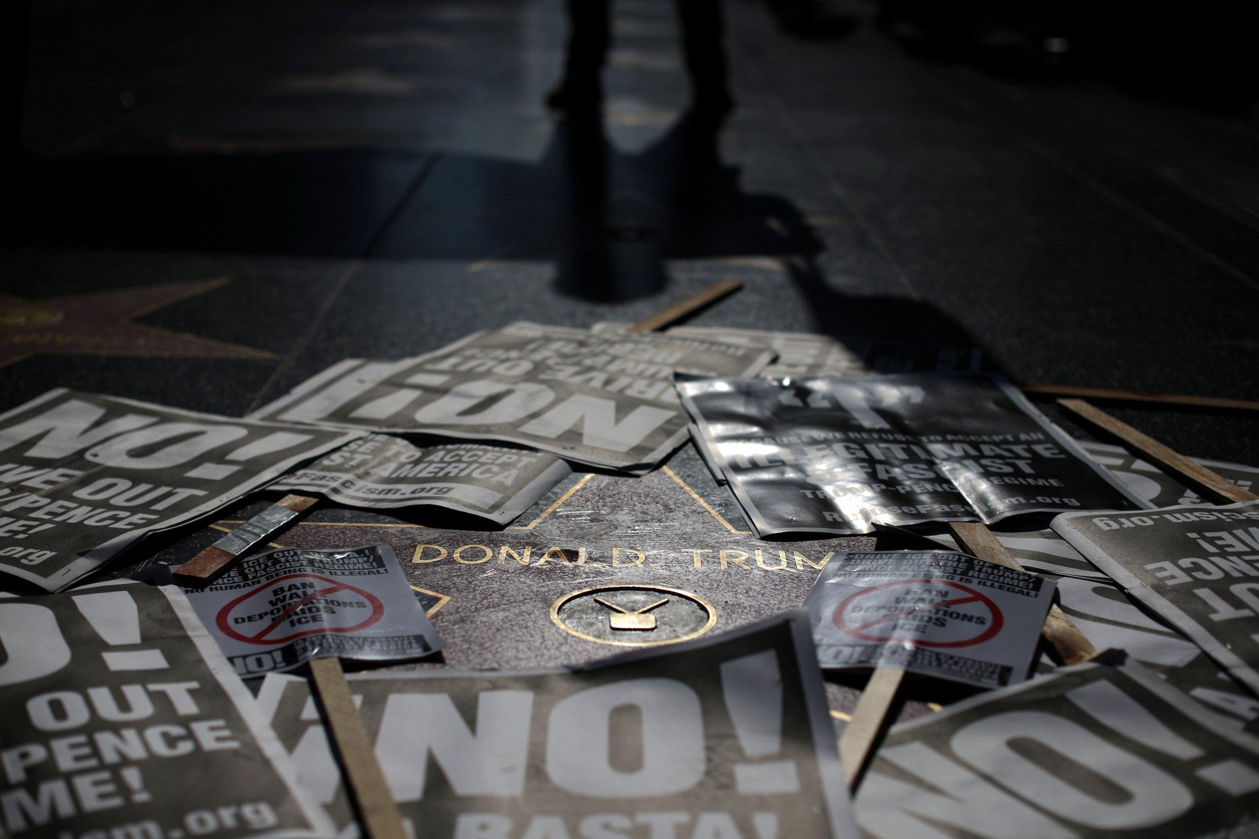 Donald Trump Walk of Fame