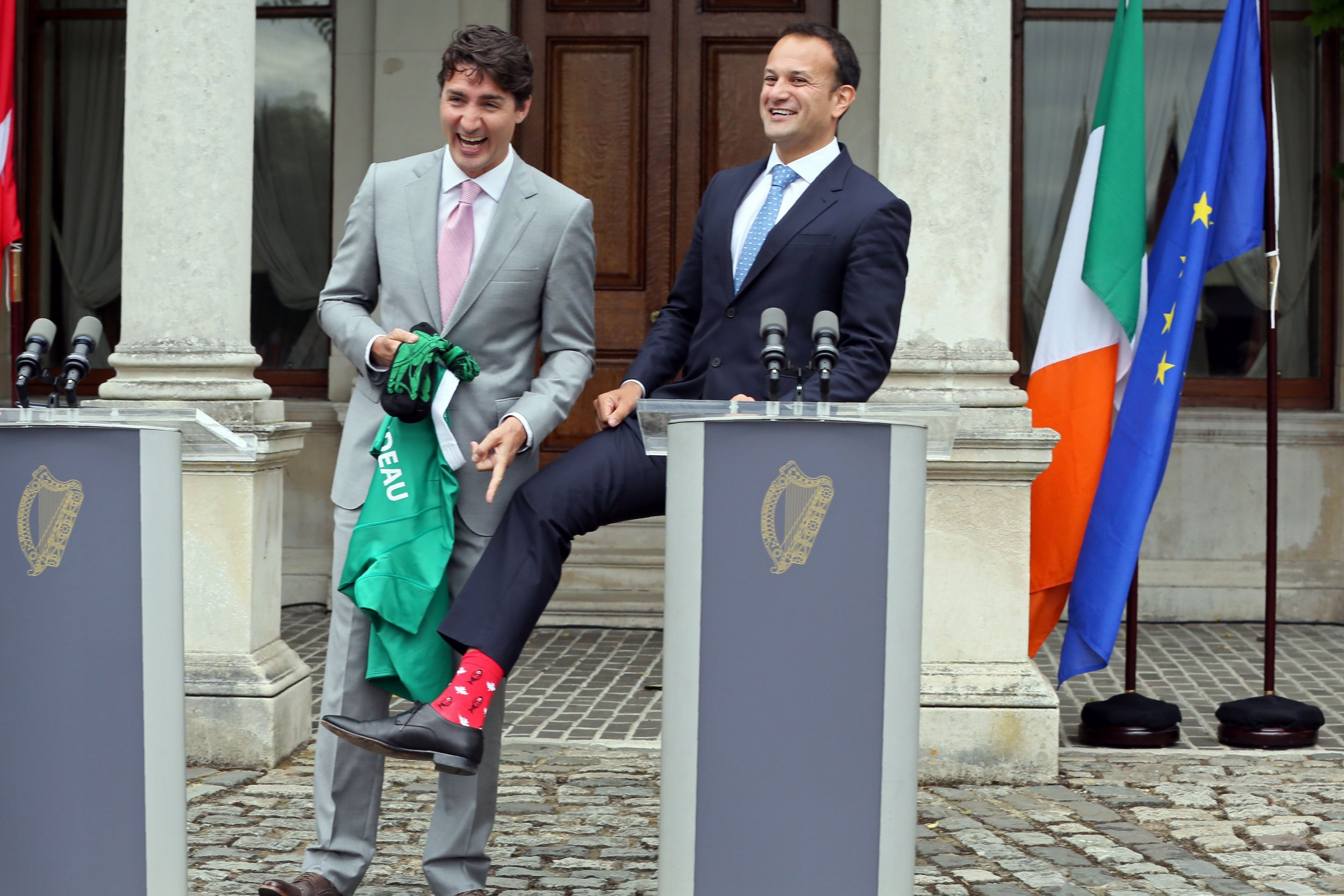 Trudeau in Ireland