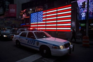 Police deaths rise after 'unprovoked attack' kills New York City officer