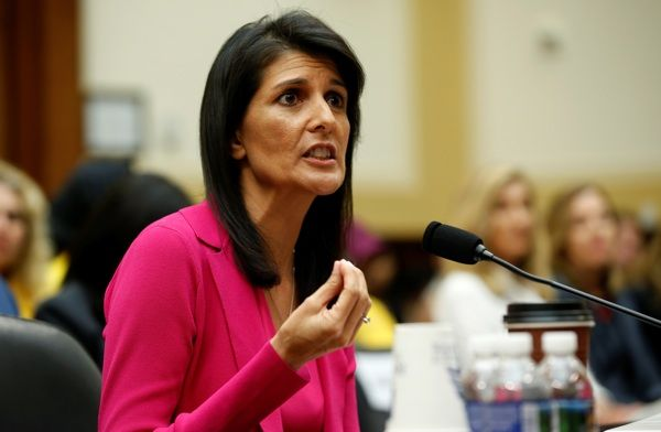 Nikki Haley complains about having to work on Independence Day