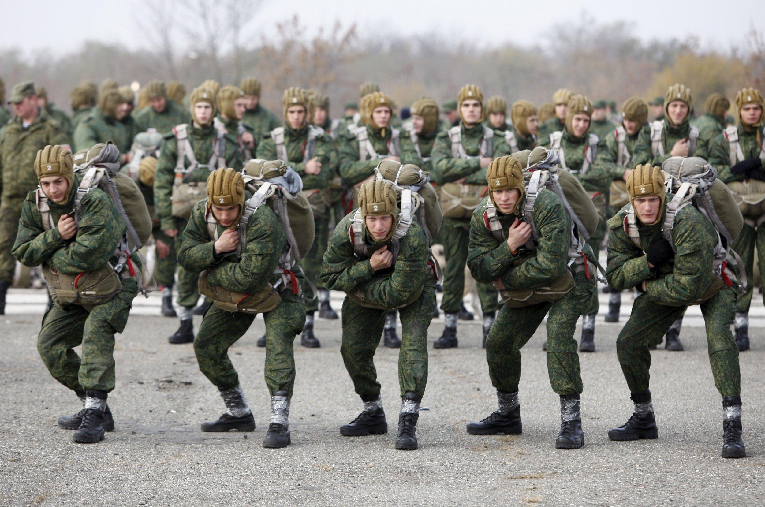 Paratrooper cadets