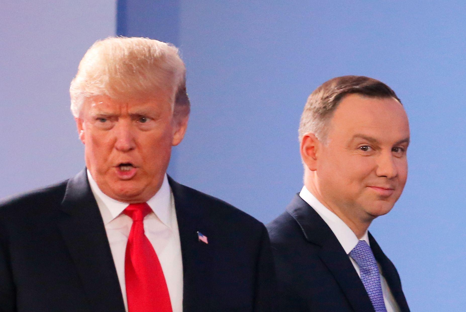 Donald Trump In Poland