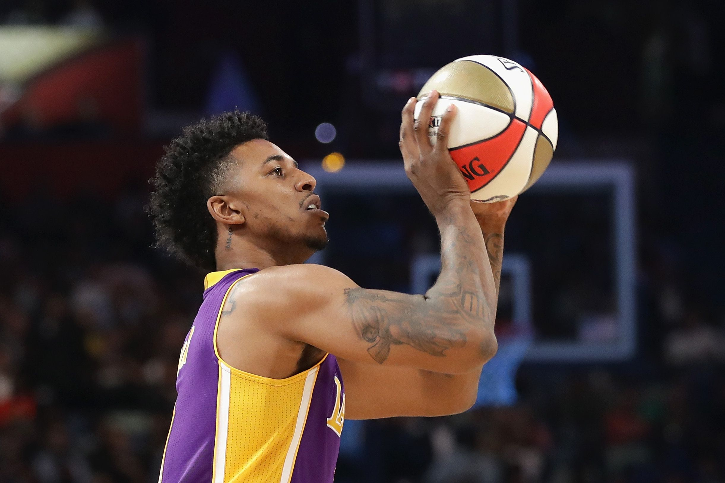 Golden State Warriors shooting guard Nick Young.